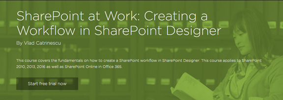Creating a Workflow in SharePoint Designer