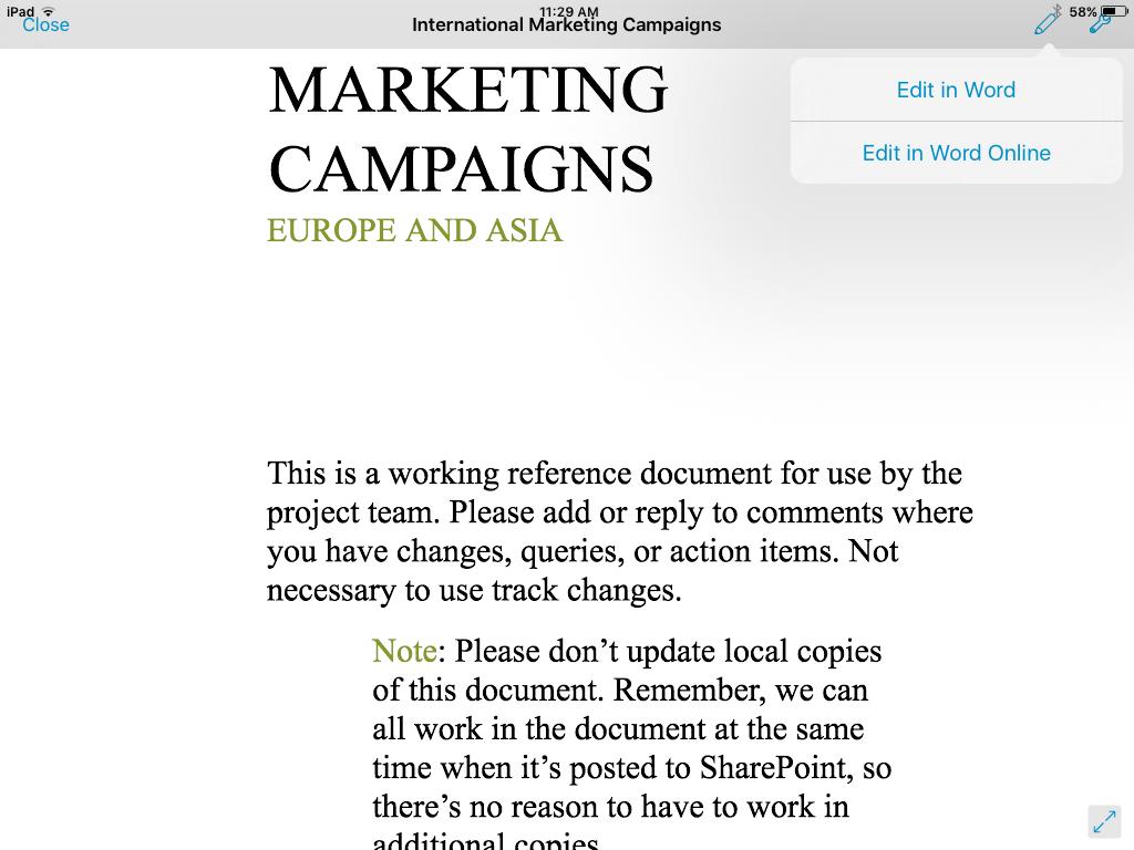 SharePlus by Infragistics