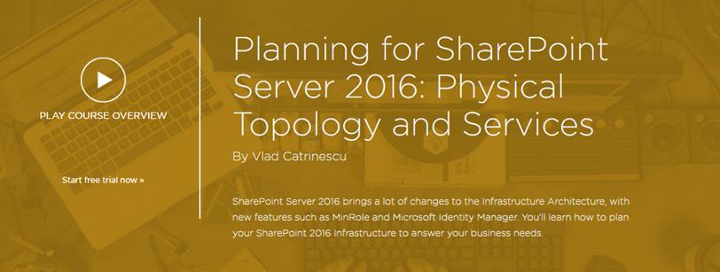 Planning for SharePoint Server 2016