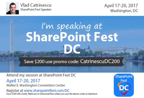 SharePoint Fest DC 2017
