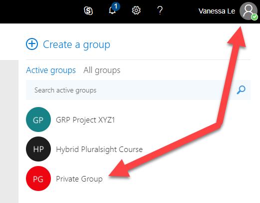 Secret Office 365 Group