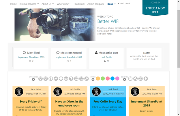 What does an Intranet need to be relevant in the Digital Workplace