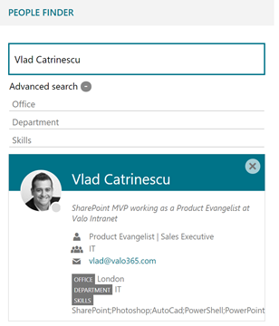 Office 365 Profile Completeness: Finding users with no department set in the user profile