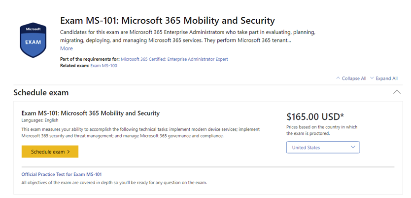 Free Microsoft Certification exams at Microsoft Ignite 2019