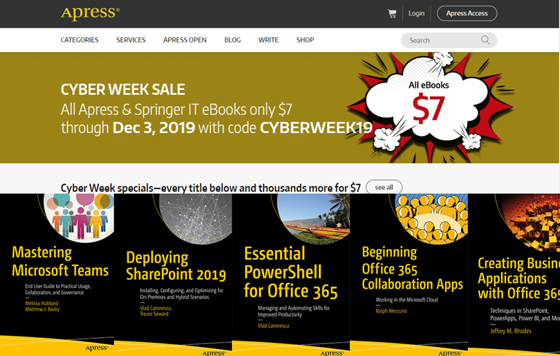 Black Friday Deals on Microsoft 365 Learning Material