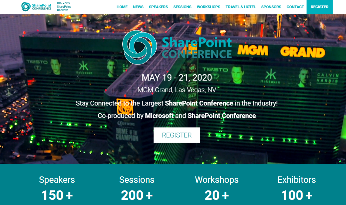 SharePoint Conference 2020