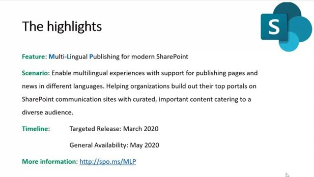 SharePoint Multilingual