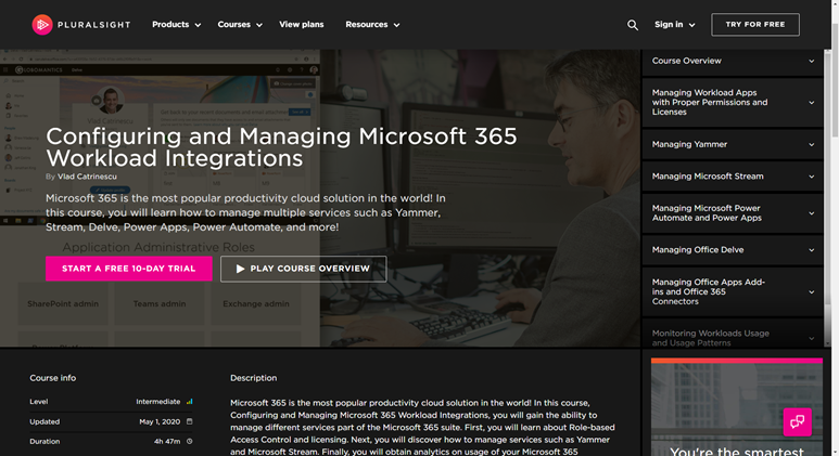 Configuring and Managing Microsoft 365 Workload Integrations